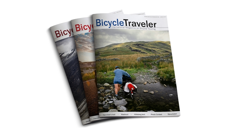 Bicycle Traveler Magazine online