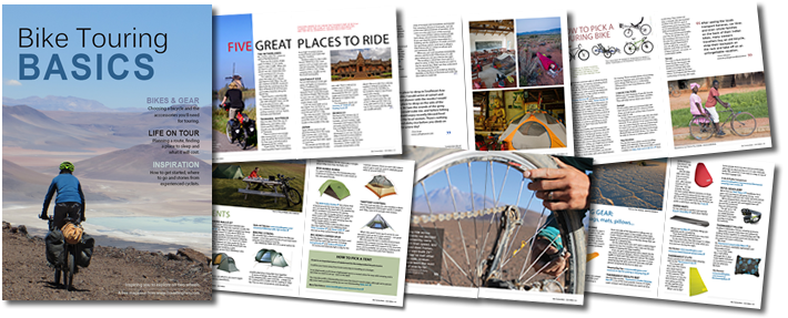 download bike touring basics free ebook from traveling two