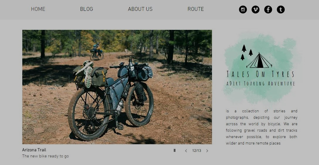 Tales on Tyres bikepacking blog