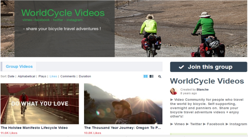 World Cycle Videos