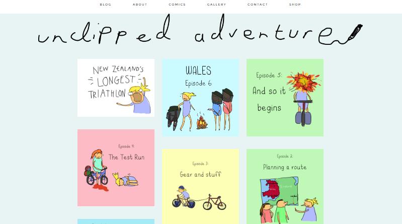 Unclipped Adventure Tegan Phillips
