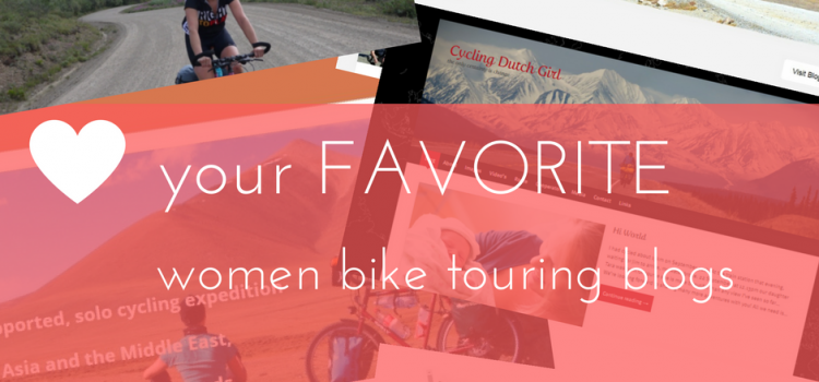 Discover More Women Bike Touring Blogs