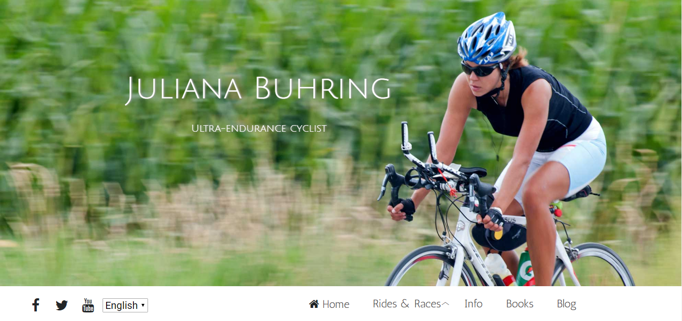 Juliana Buhring solo woman cycling around the world