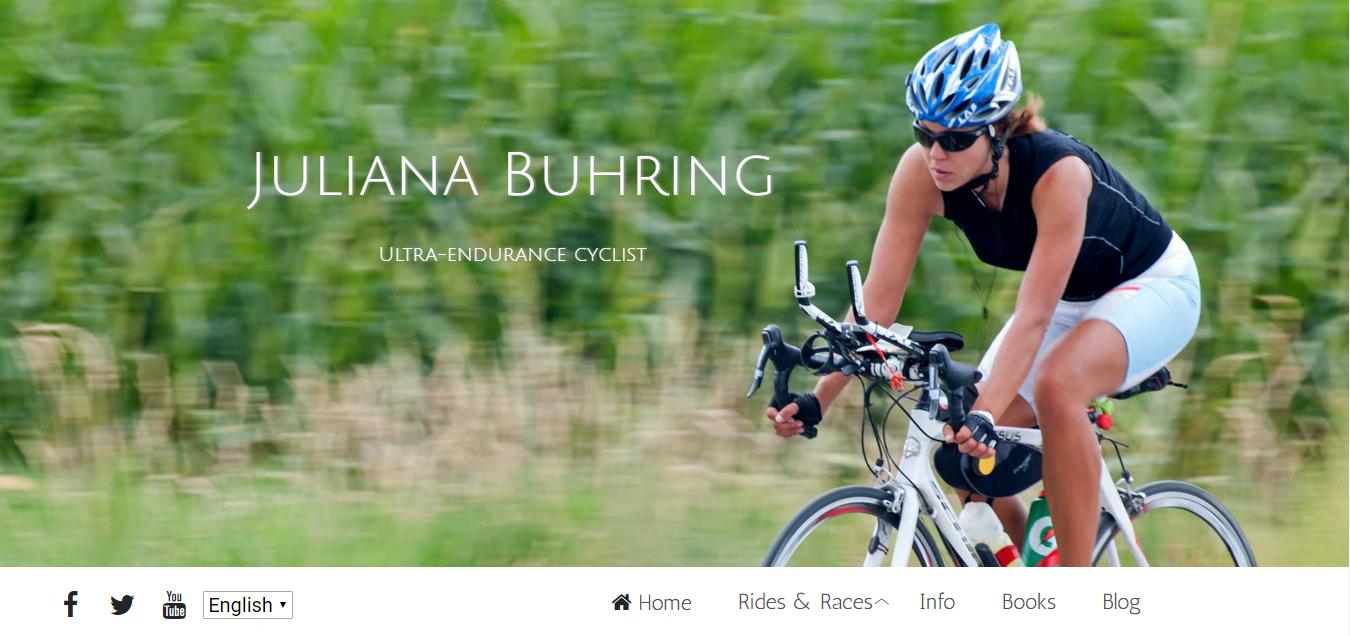 Juliana Buhring solo woman cycling around the world