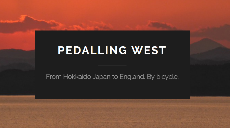 Pedalling West Round the World Bicycle Tour Clare Evans